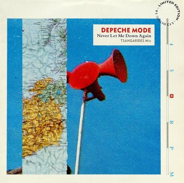 Depeche Mode - Never let me down again - 12