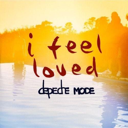 Depeche Mode - I feel loved - CD