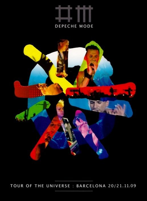 Depeche Mode - Tour of the universe - [DVD + 2CD]