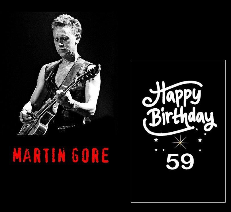 Happy Birthday ! Mister Martin Gore