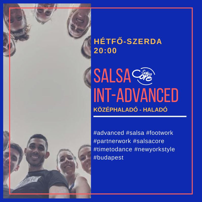 SALSA ADVANCED HALADÓ