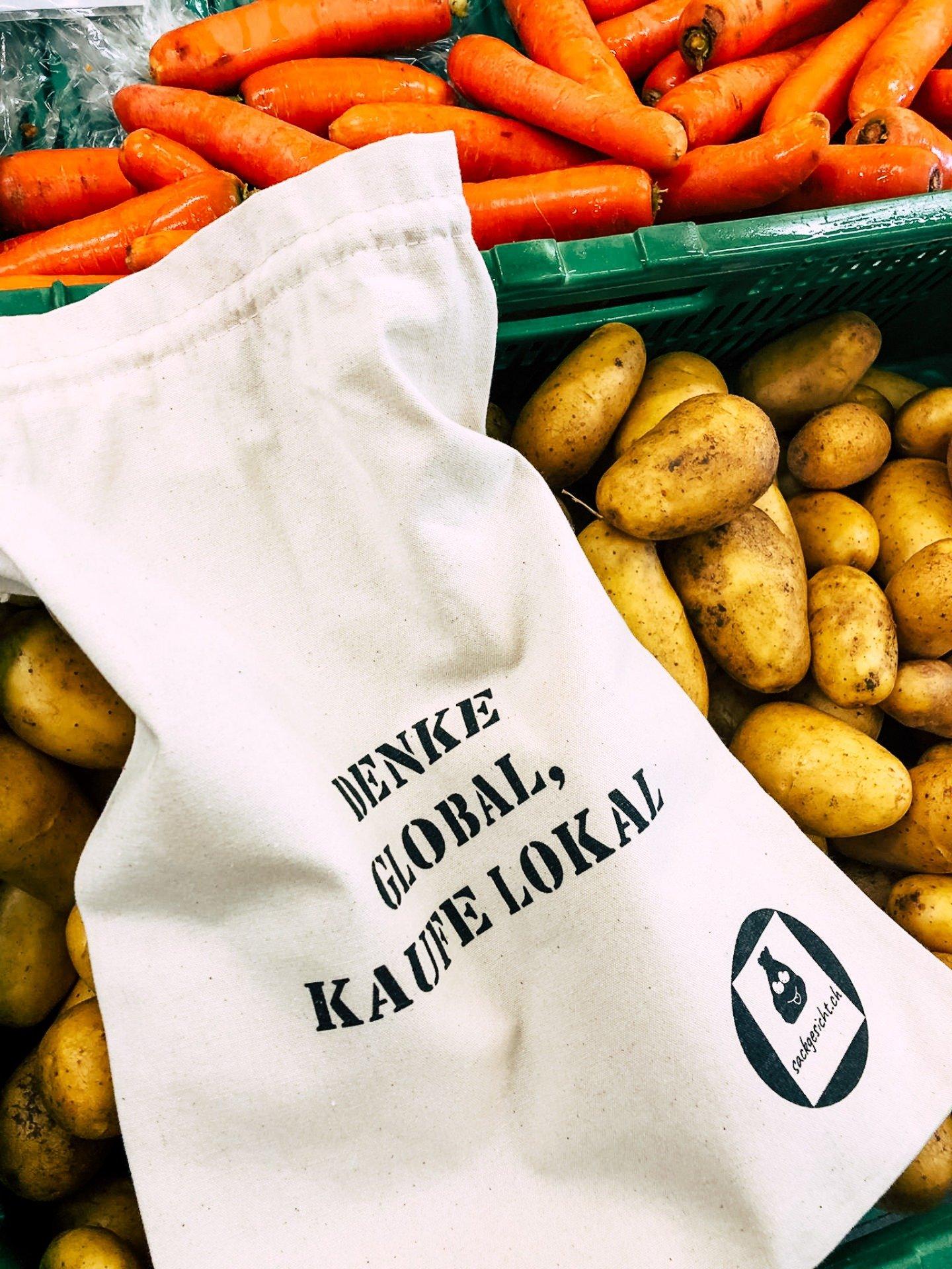 Gemüsesack mit Kartoffeln