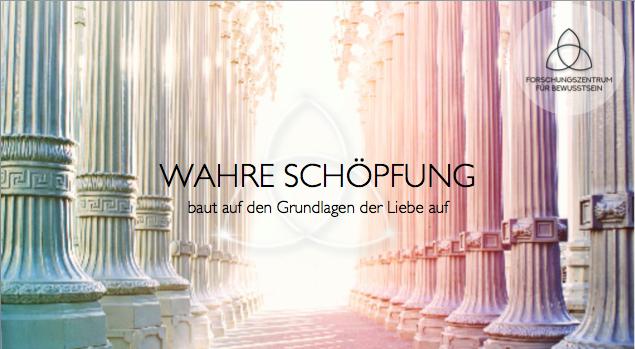 Workshop I - Wahre Schöpfung