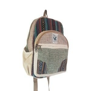 hemp small back pack