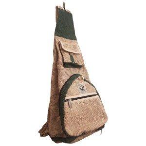 Hemp folding backpack