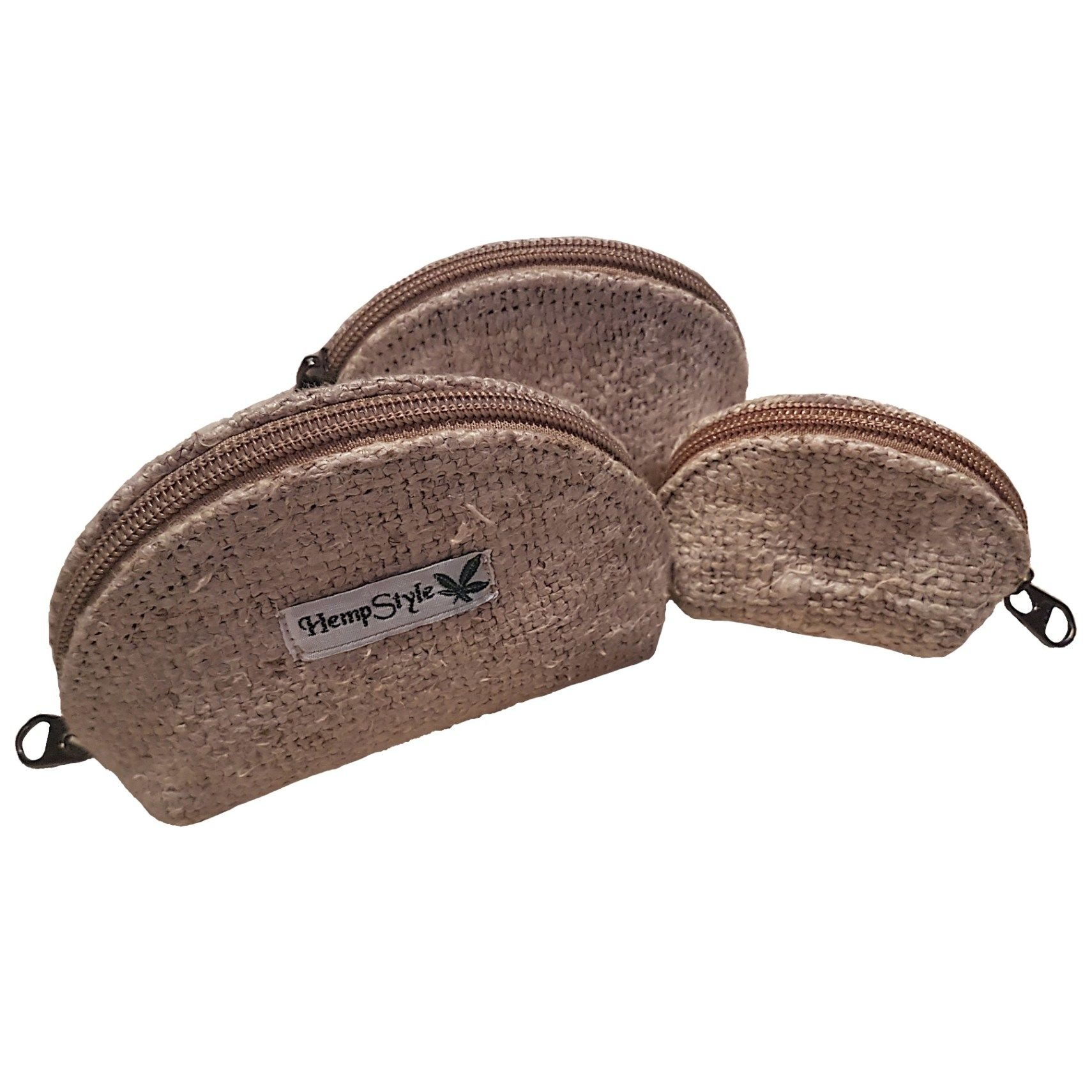 Coin hemp purse 3 piece