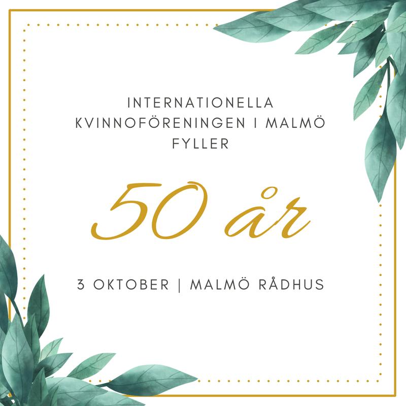 Välkommen till IKF Malmös 50 årsjubileum i Rådhuset!