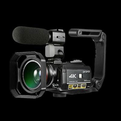 Camcorder 4k Video Camera, ORDRO HD 1080P 60FPS Vlog Camera IR Night Vision Video Recorder