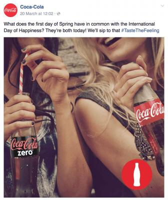 Coke right hand