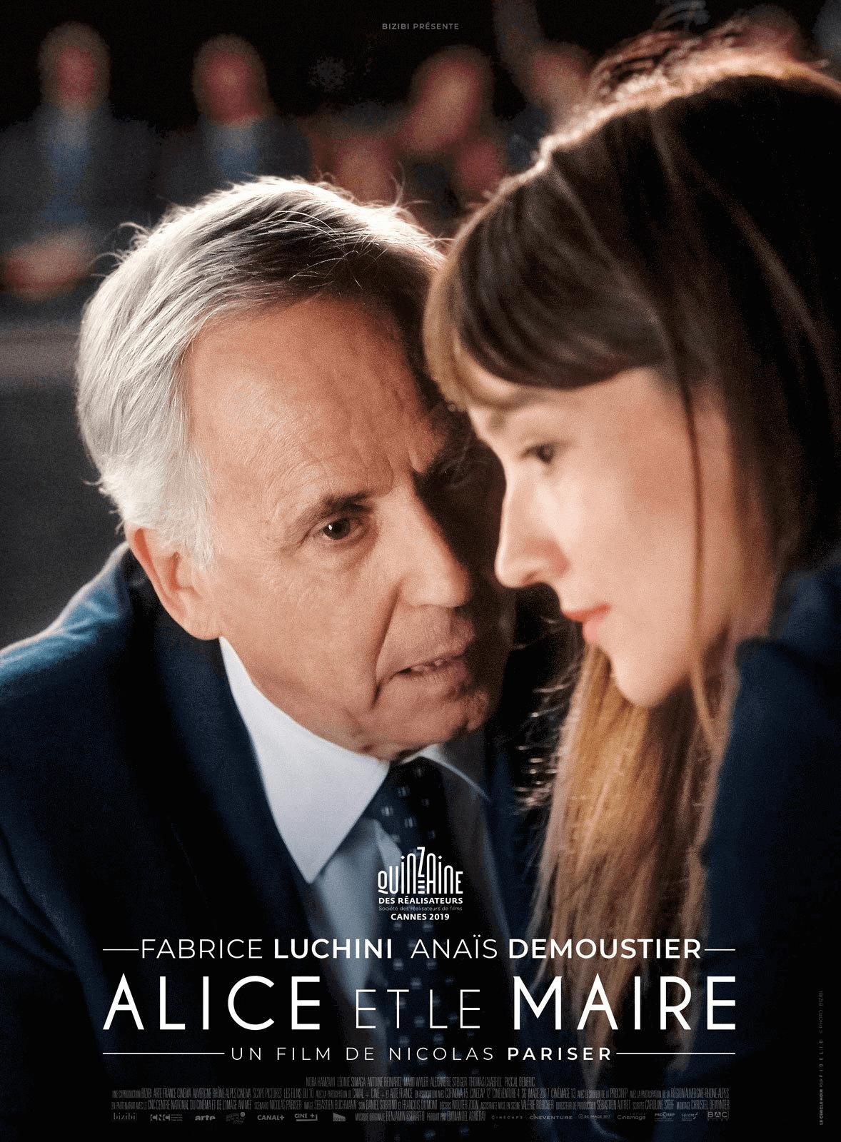 Alice et le maire, de Nicolas Pariser, avec Fabrice Luchini, Anaïs Demoustier, Nora Hamzawi. DVD, BlueRay, M6video.