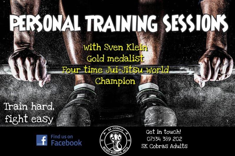 SK Cobras Martial Arts - Personal Training
