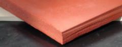 lençol borracha para cabine jateamento de jato granalha de areia e aço alta abrasão NR-0524