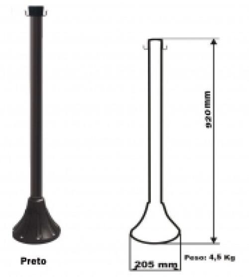 Desenho para exemplificação das especificações técnicas