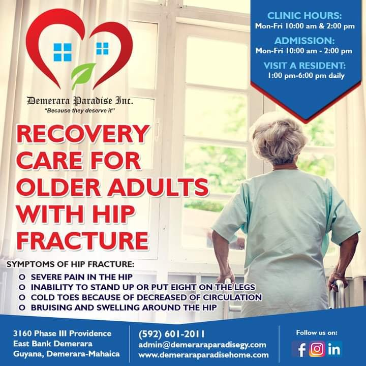 Hip Fracture Care plan