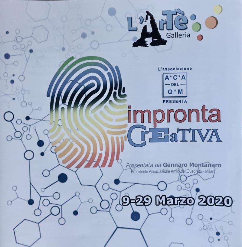 Impronta Creativa, March 2020