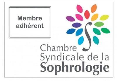 Membre adhérent à la chambre Syndicale de la Sophrologie