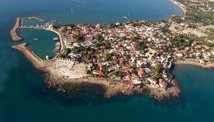 مدينة سيدا الاثرية في انطاليا