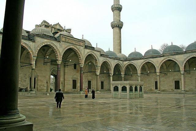 مسجد سليمان القانوني في اسطنبول