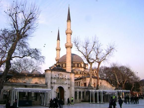 جولة سياحية الى منطقة ايوب في اسطنبول