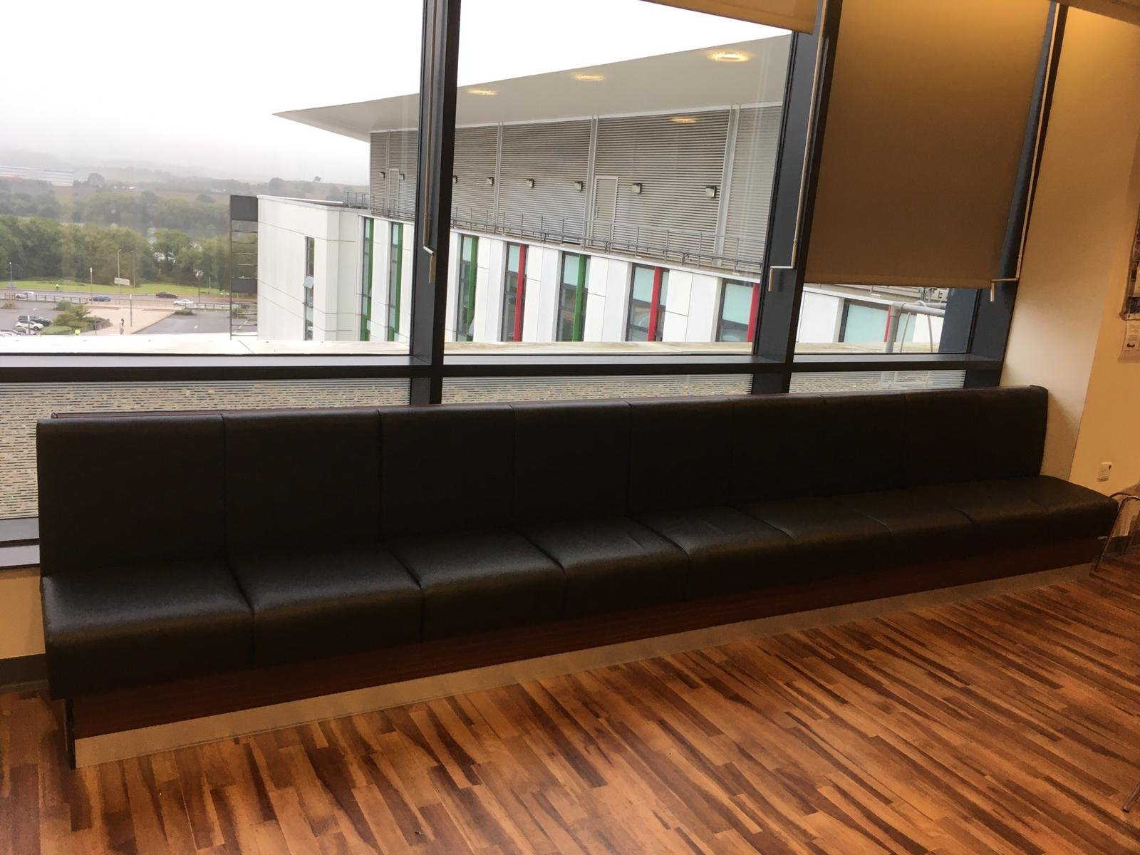 Re-upholstered seating for Kings Mill Hospital