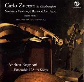 Carlo Zuccari, Sonate a violino e basso op. I