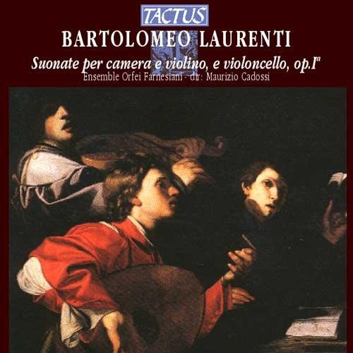 Bartolomeo Laurenti, Suonate per camera a violino, e violoncello, op. I