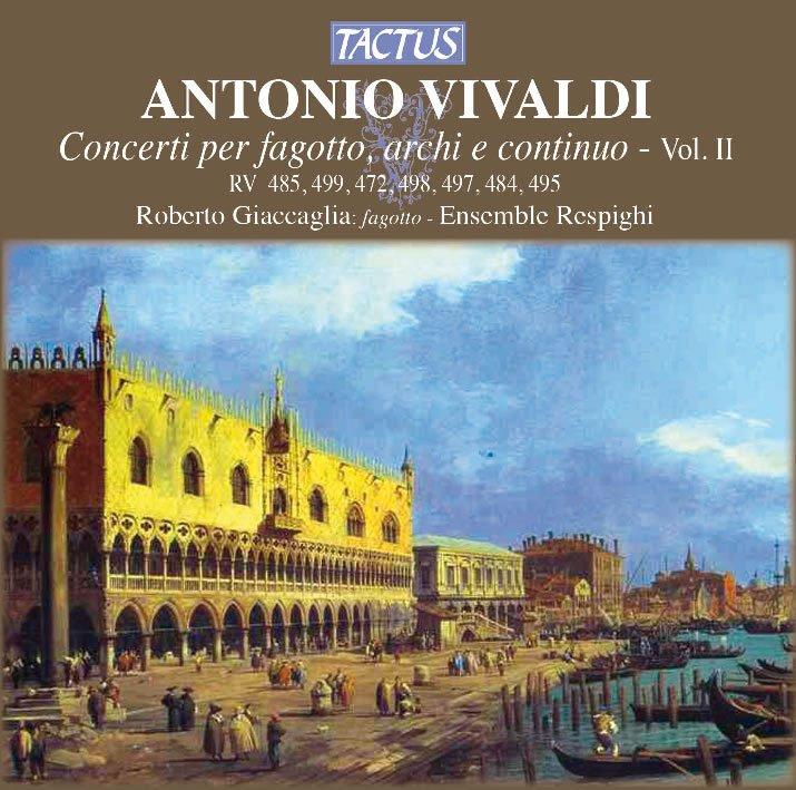Antonio Vivaldi, Concerti per fagotto - vol. II