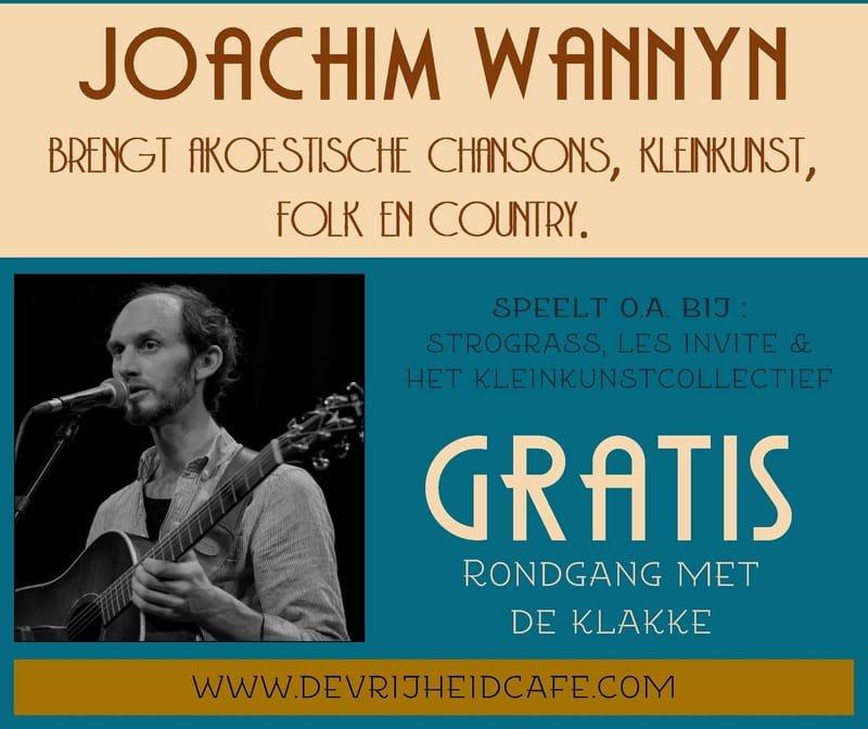 Gratis concert Joachim Wannyn
