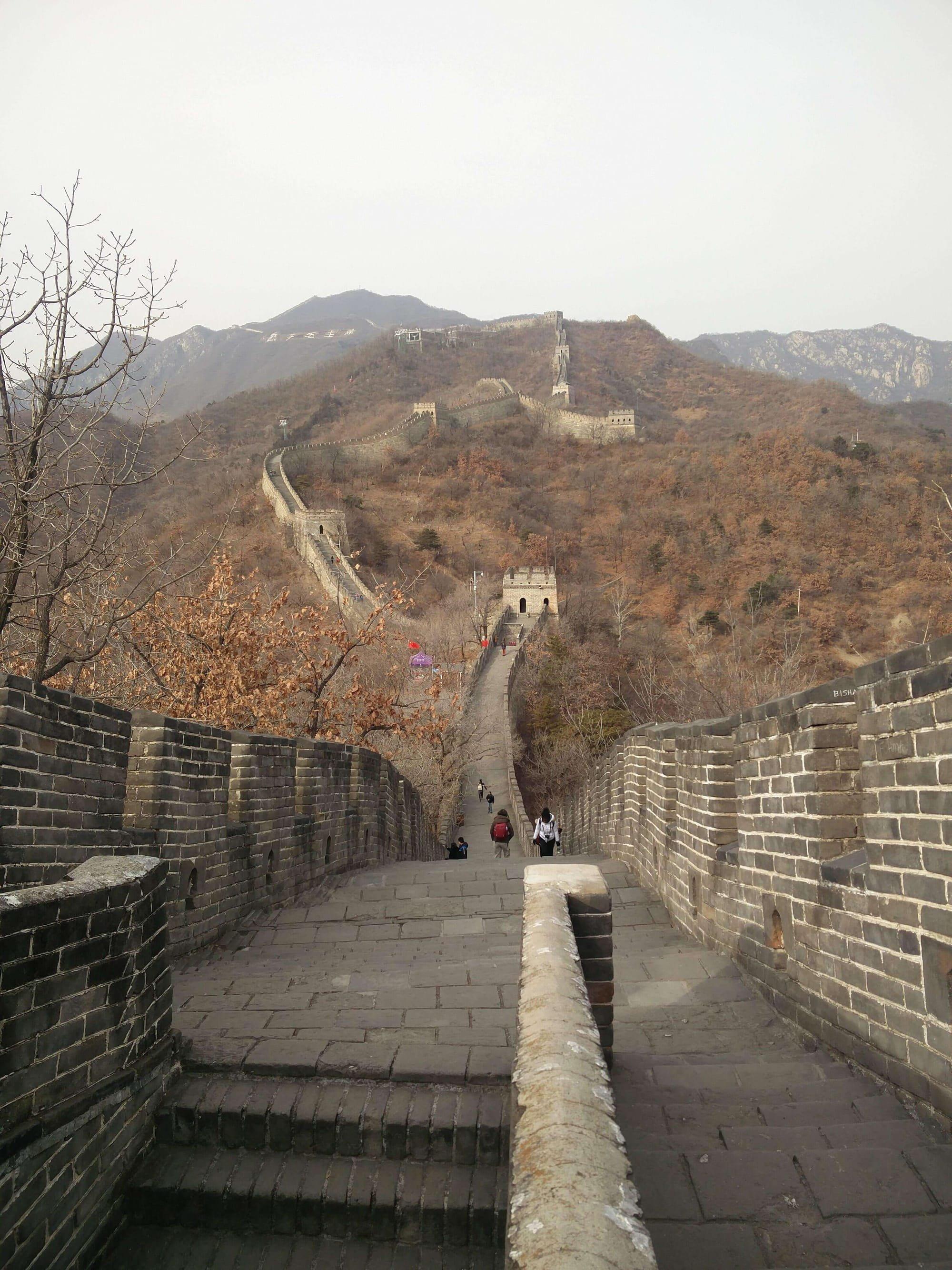 רוית רדיאן, בין ים ושמיים, החומה הסינית, בייג'ין, אימון, שינוי