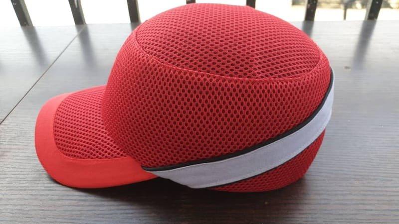 Red Safety Bumper Caps Premium.
