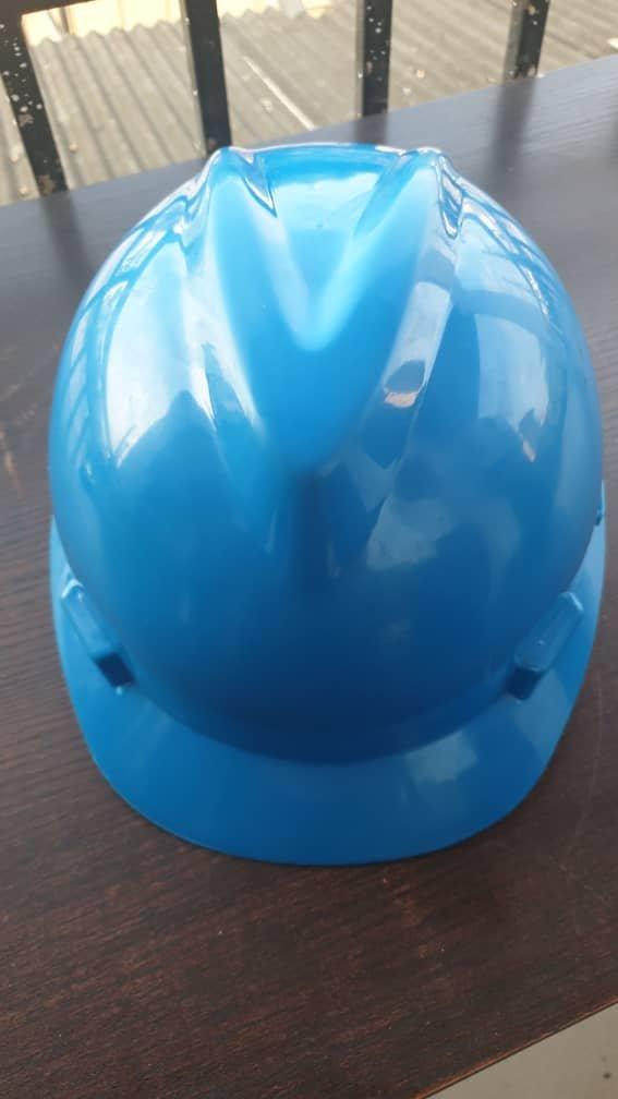 Blue V-Guard Safety Helmet (MSA Certified)