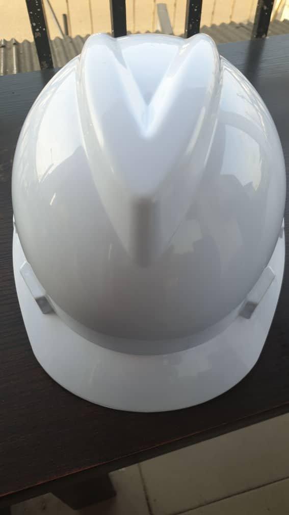 White V-Guard Safety Helmet (MSA Certified)