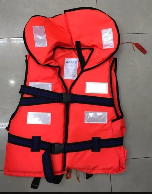 Red Life Jacket Ultra Premium with Reflector