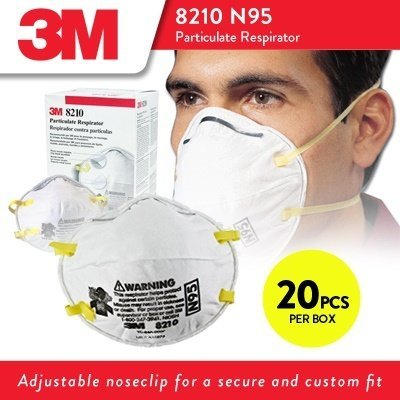 3M 8210 N95 Particulate Respirator Nose Mask (SOLD OUT)