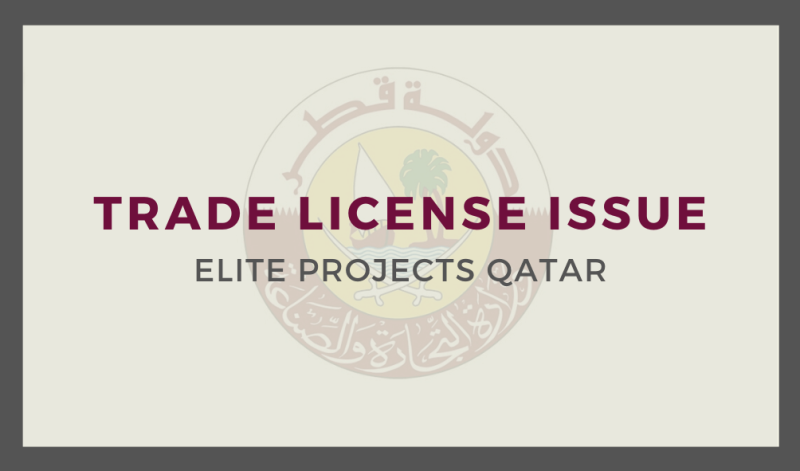 Trade License Issue