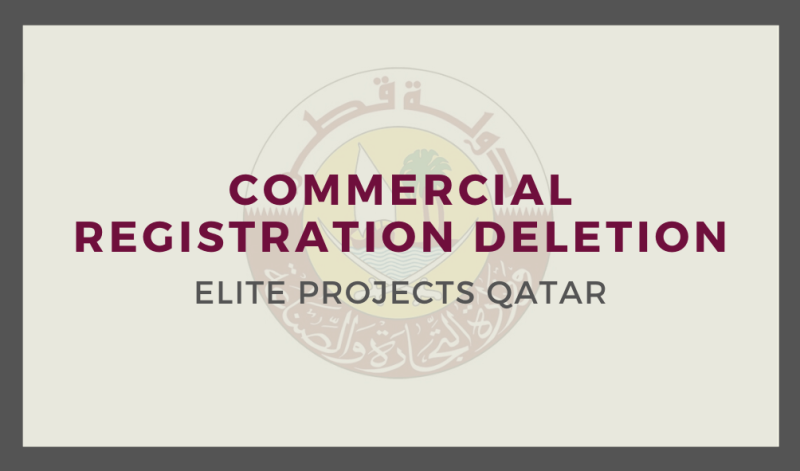 Commercial Registration Deletion