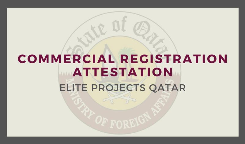 Commercial Registration Attestation