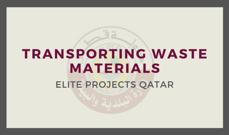 Transporting Waste Materials