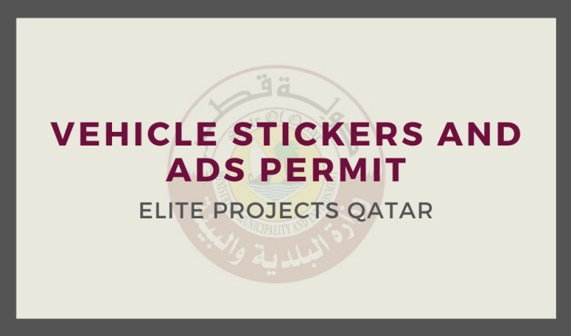 Vehicle Stickers and Ads Permit