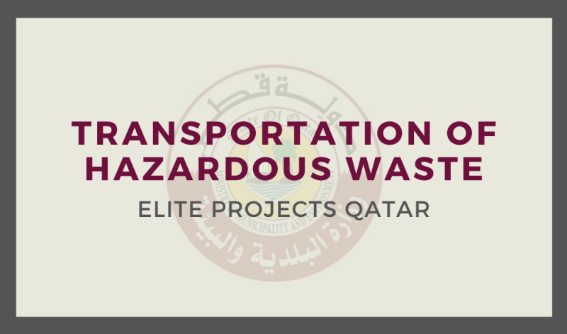 Transportation of Hazardous Waste
