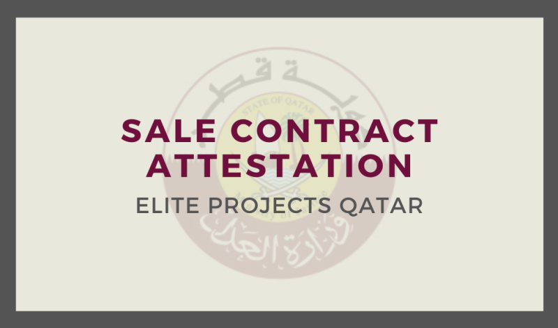 Sale Contract Attestation