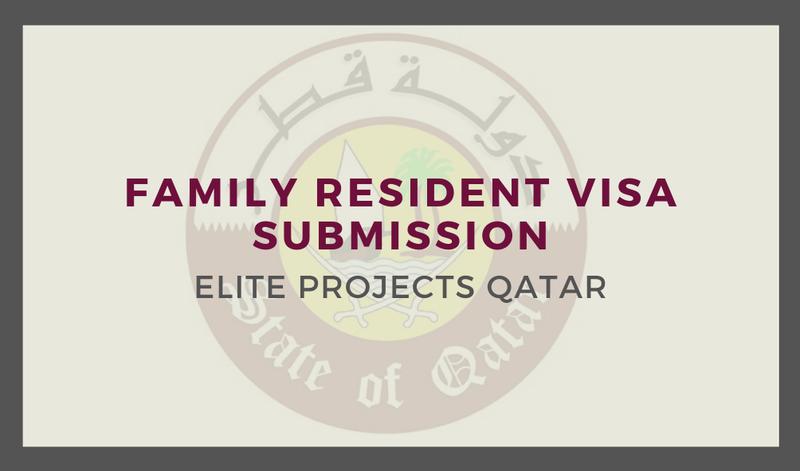 Family Resident Visa Submission