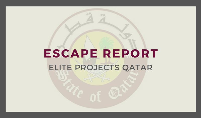 Escape Report
