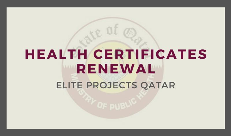 Health Certificates Renewal
