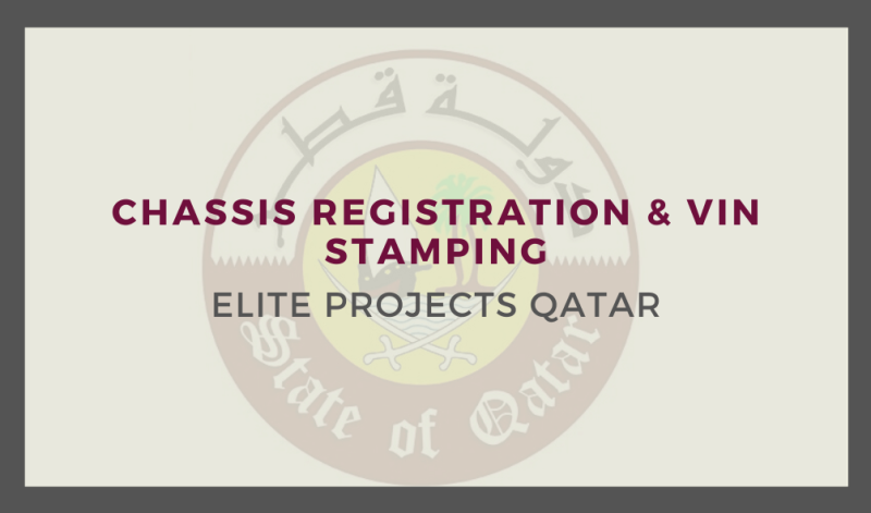 Chassis Registration & VIN Stamping