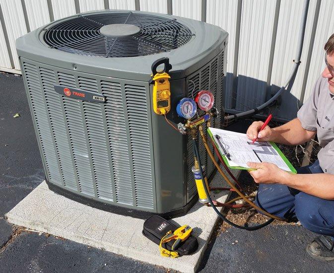 HVAC or Air Conditioner Repair