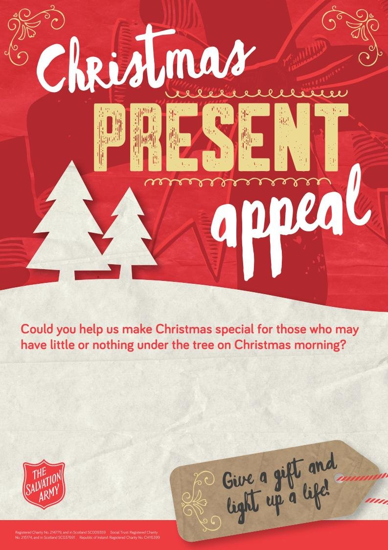 An Christmas Appeal from the Salvation Army