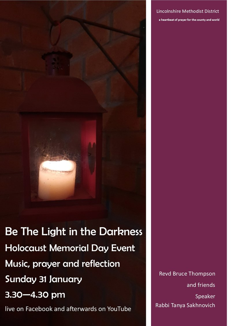 Holocaust Memorial Day Event - Be the Light in the Darkness