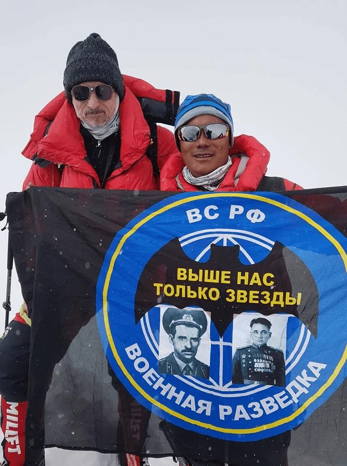 Александр Горобец, Дорчи Шерпа, Манаслу 8163