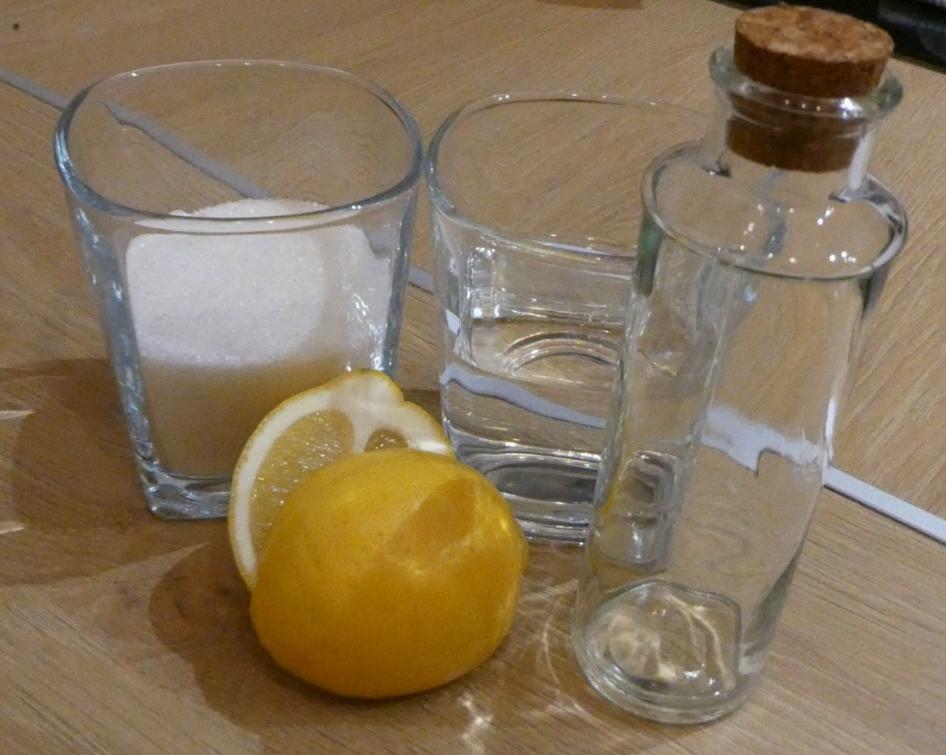 Jak zrobić syrop cukrowy – składniki